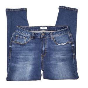 || KENSIE JEANS || Size 8 Cropped Skinny Jeans